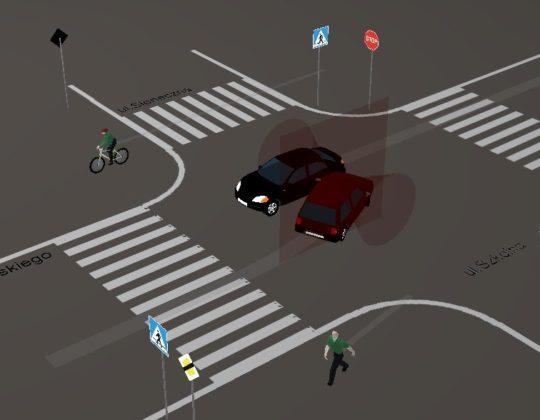 Rekonstrukcja wypadków drogowych