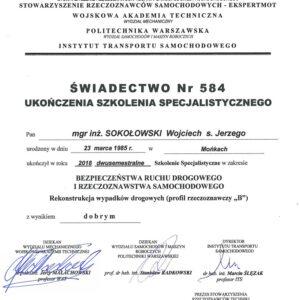 Certyfikat Profil B WS