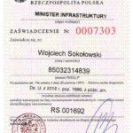 Certyfikat RS001692