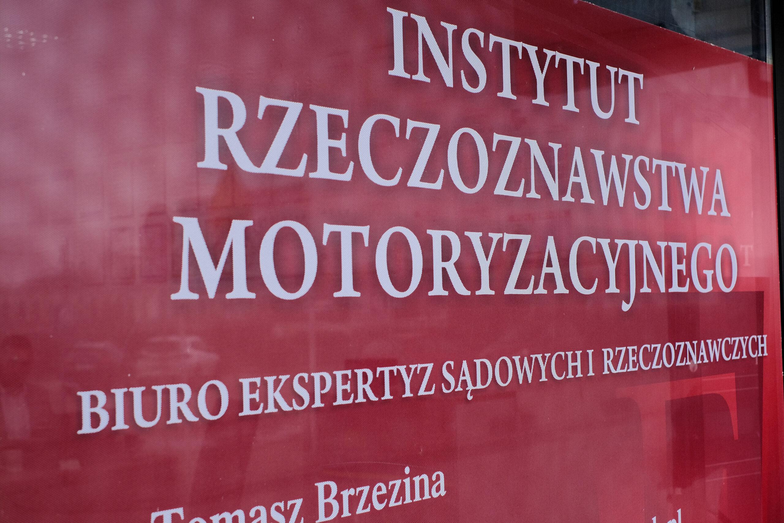 Instytut rzeczoznawstwa motoryzacyjnego TB Ekspert - rzeczoznawca samochodowy
